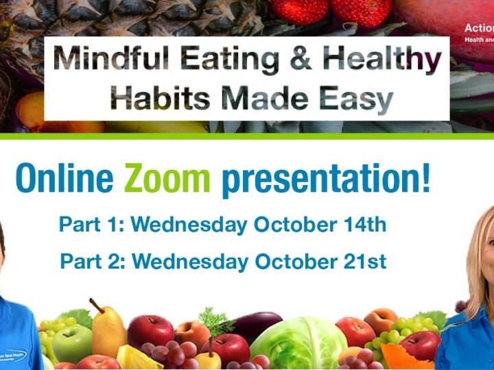 Mindful eating workshop